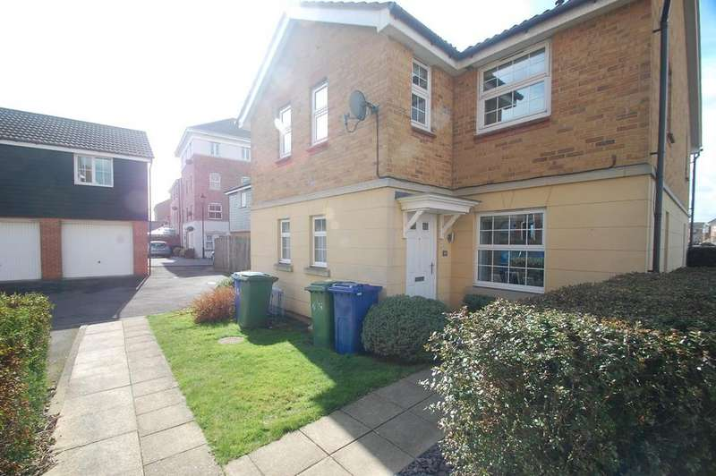 2 Bedrooms Semi Detached House for sale in Amethyst Drive, Sittingbourne, ME10
