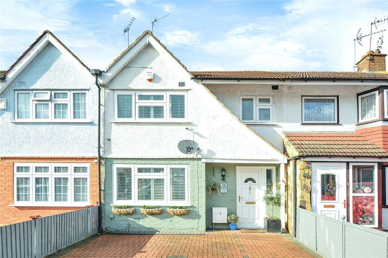3 Bedrooms Terraced House for sale in Bedford Road, Ruislip Gardens, Middlesex, HA4
