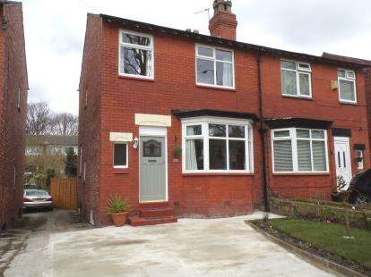 3 Bedrooms Semi Detached House for sale in Nangreave Road, Heaviley, Stockport, Cheshire