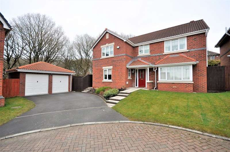 4 Bedrooms Detached House for sale in Knowles Wood Drive, Chorley, Lancashire, PR7 2FE