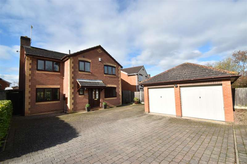 4 Bedrooms Detached House for sale in Emperor Drive, Worcester