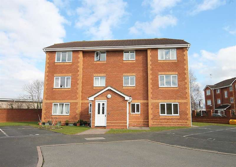 2 Bedrooms Flat for sale in Exeter Drive, Tamworth, B79 7YQ