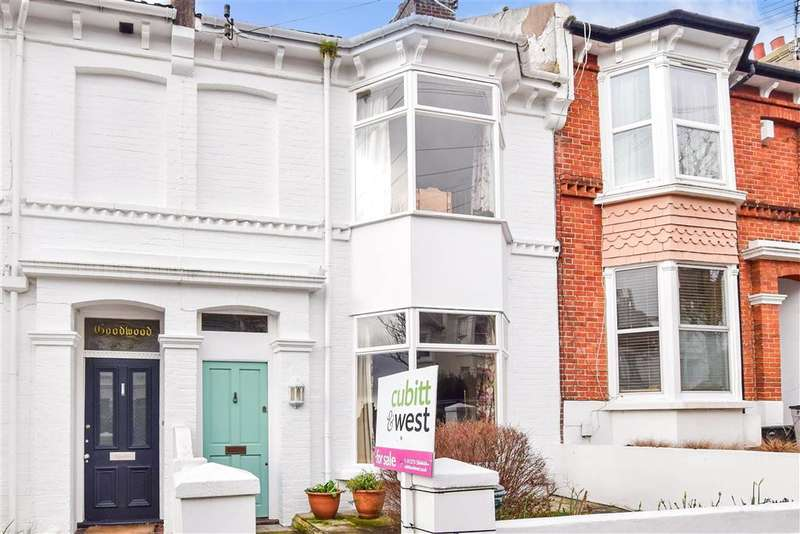 3 Bedrooms Terraced House for sale in Chester Terrace, , Brighton, East Sussex