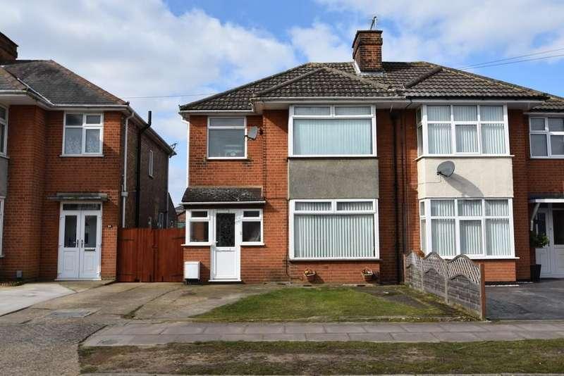 3 Bedrooms Semi Detached House for sale in Gloucester Road, Ipswich, IP3 9LF