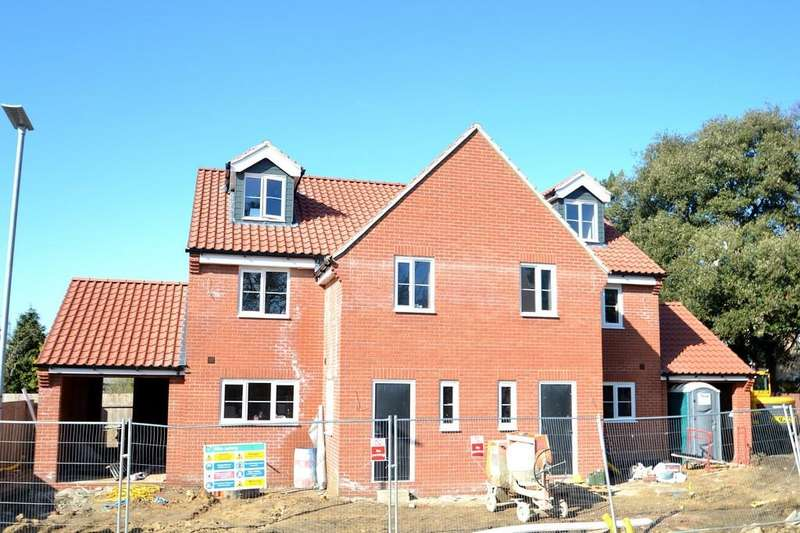4 Bedrooms Semi Detached House for sale in Old Norwich Road, Ipswich, IP1 6LU