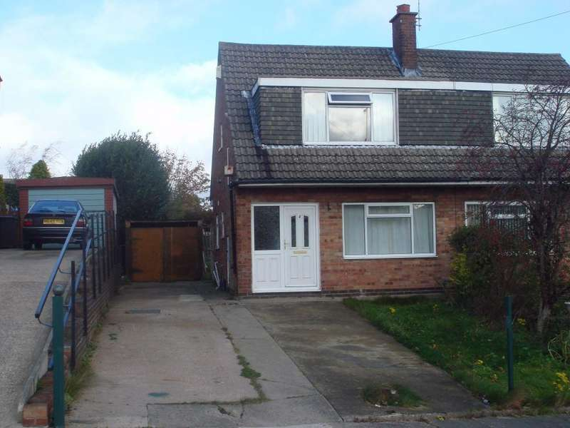3 Bedrooms Semi Detached House for sale in Leyside Drive, Allerton, Bradford, West Yorkshire