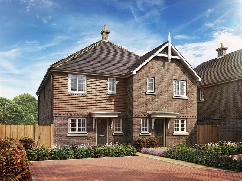 3 Bedrooms Semi Detached House for sale in Stanton Lodge Gardens, Shelvers Way, Tadworth