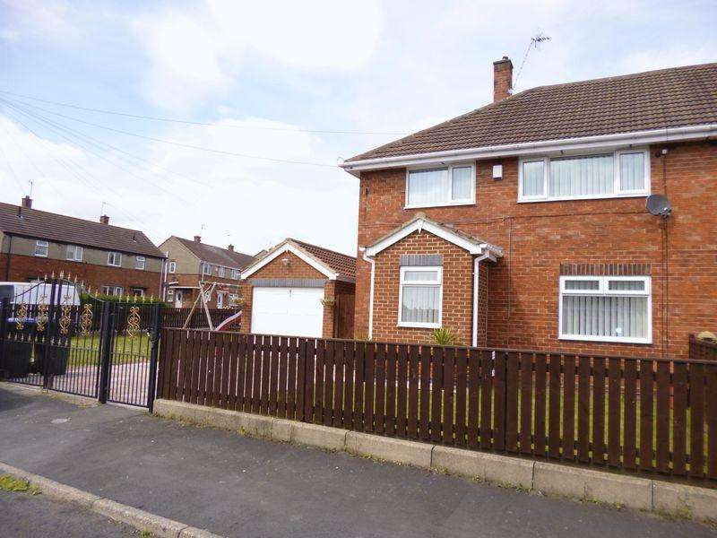 3 Bedrooms Semi Detached House for sale in Aclet Close, Bishop Auckland