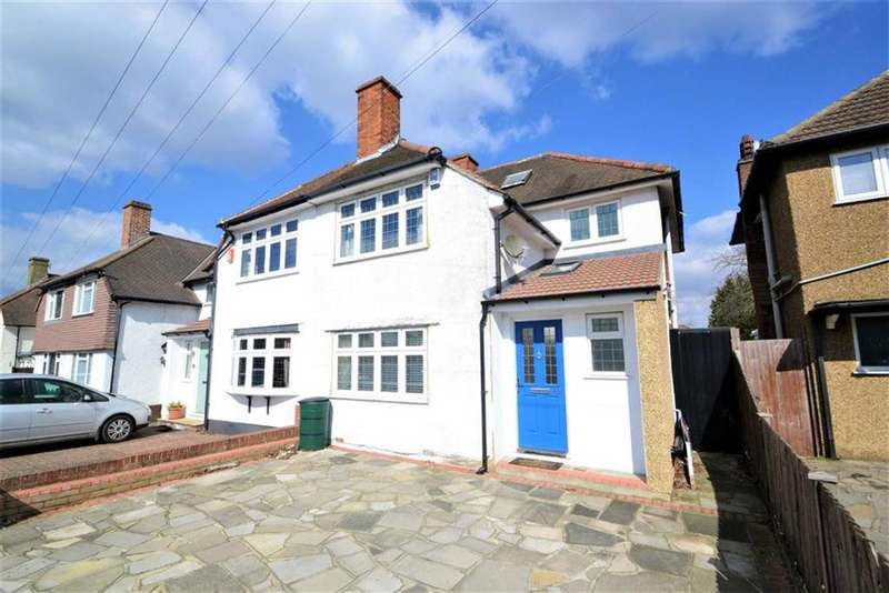3 Bedrooms Semi Detached House for sale in Towncourt Lane, Petts Wood, Kent