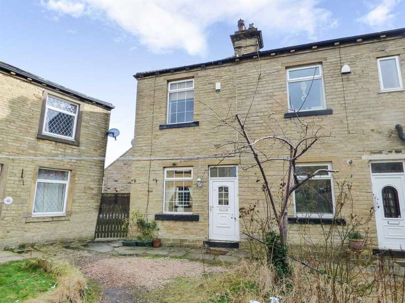 2 Bedrooms End Of Terrace House for sale in Tordoff Road, Low Moor, Bradford