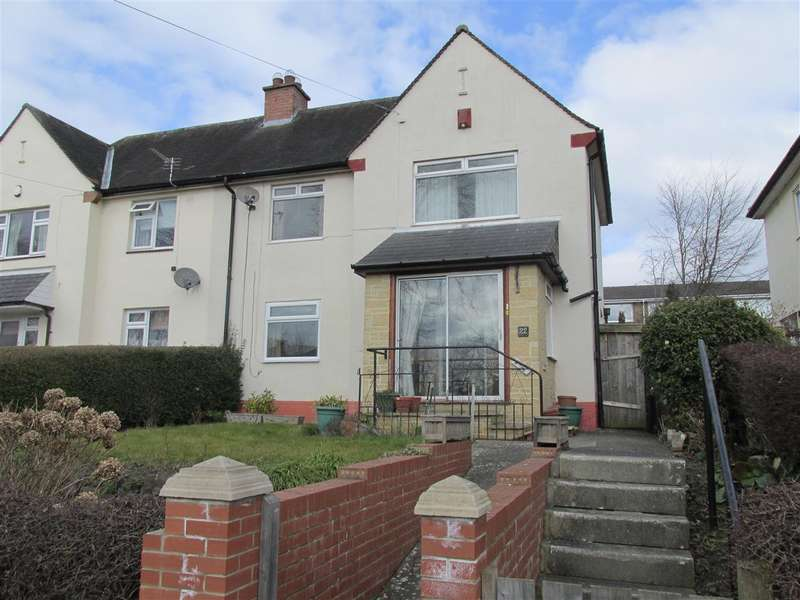 2 Bedrooms Semi Detached House for sale in Broomyhill Road, Newcastle upon Tyne