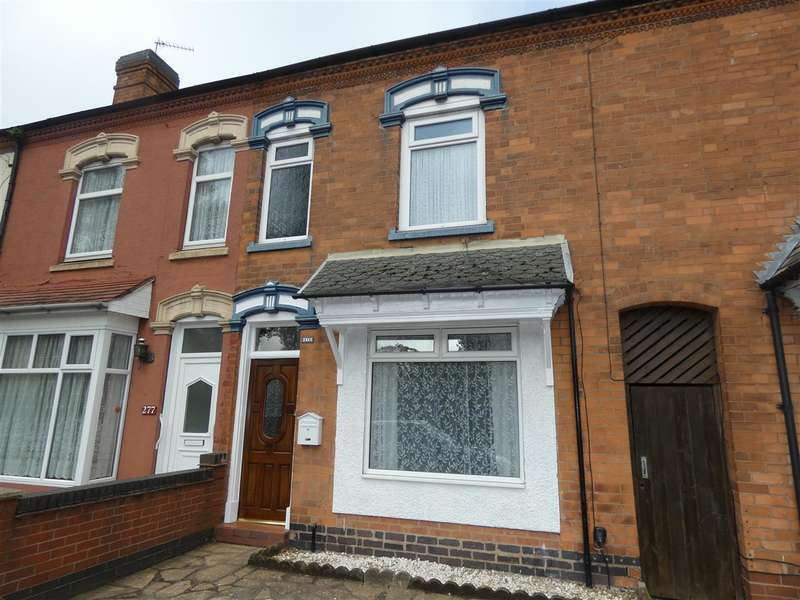 3 Bedrooms Terraced House for sale in Yardley Road, Yardley, Birmingham
