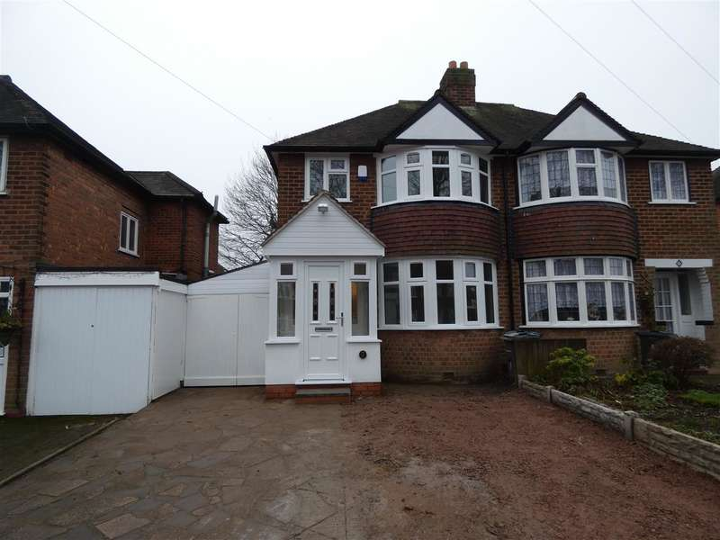 3 Bedrooms Semi Detached House for sale in Saxondale Avenue, Yardley, Birmingham