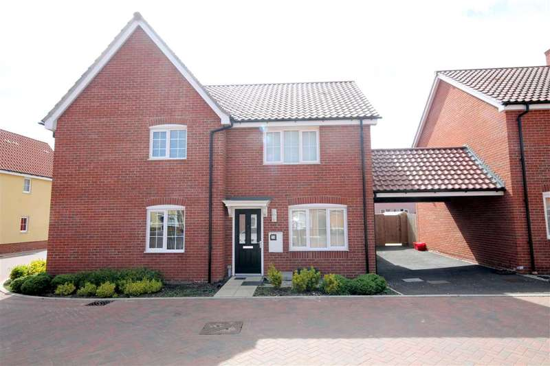 2 Bedrooms Semi Detached House for sale in Dresden Square, Clacton on Sea