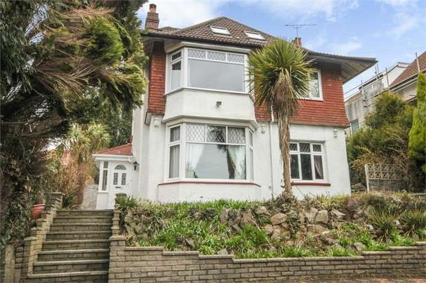 5 Bedrooms Detached House for sale in Gower Road, Sketty, Swansea, West Glamorgan