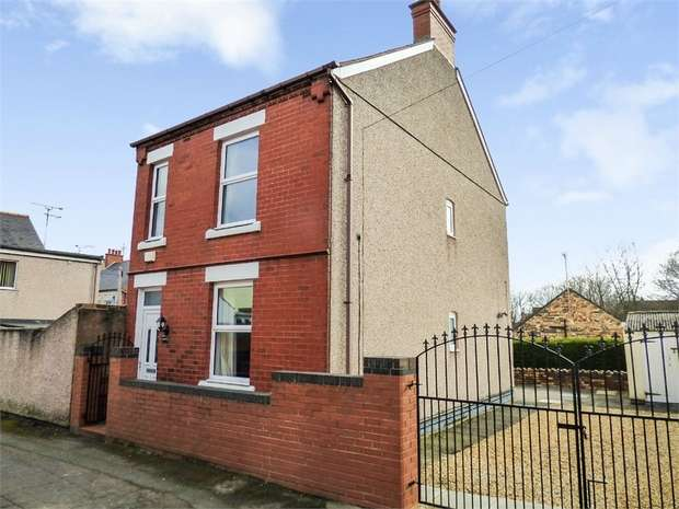 2 Bedrooms Detached House for sale in Sidney Street, Rhosllanerchrugog, Wrexham