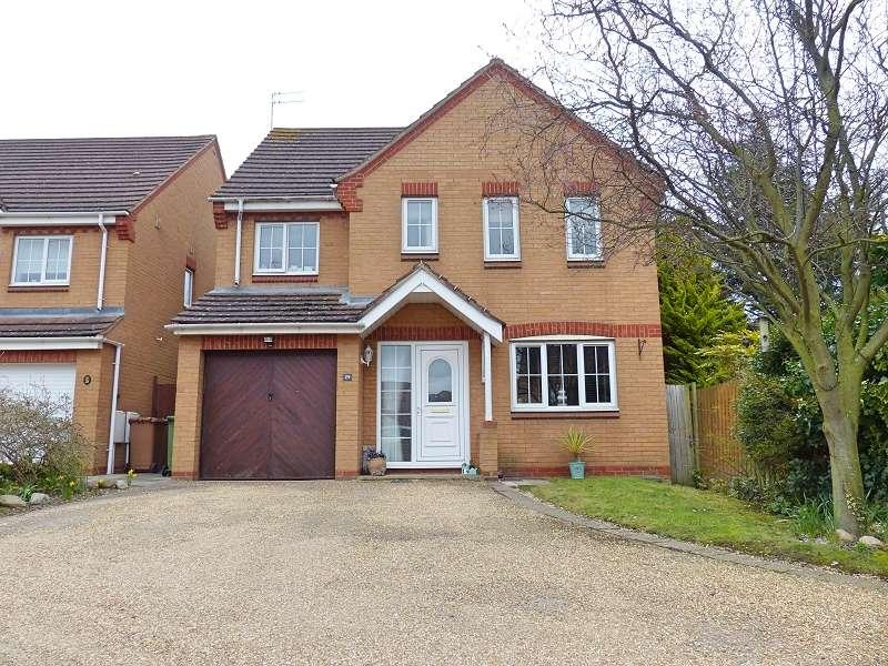 4 Bedrooms Detached House for sale in Ilex Close, Hampton Hargate, Peterborough, PE7 8AD