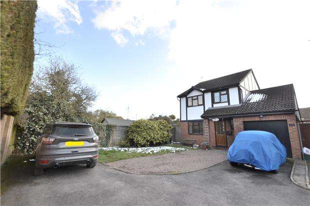 3 Bedrooms Detached House for sale in Hildyard Close, Hardwicke, GLOUCESTER, GL2 4PZ