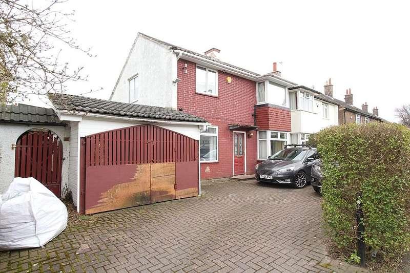 4 Bedrooms Semi Detached House for sale in Tolson Crescent, Huddersfield, West Yorkshire, HD5 9UG