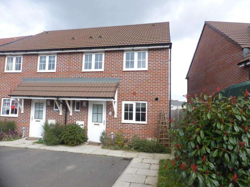 3 Bedrooms Semi Detached House for sale in Codling Road, Evesham