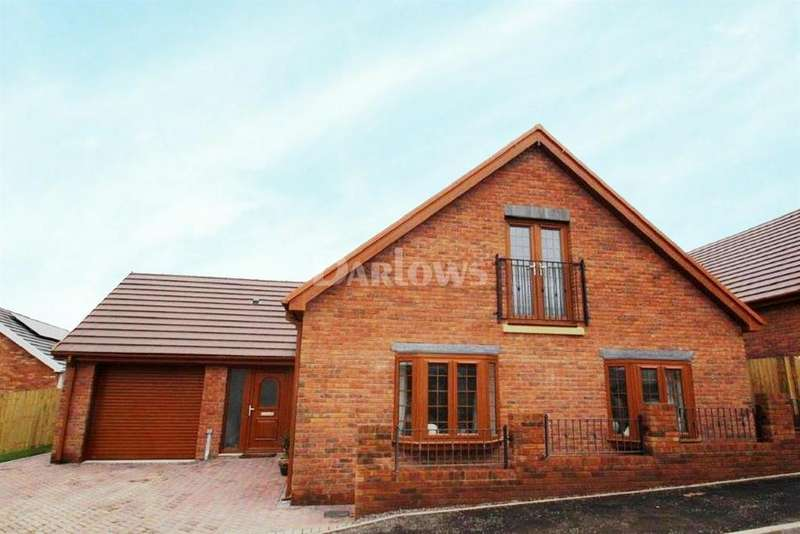 3 Bedrooms Bungalow for sale in Plot 15 Carmel, Glanfryn Court