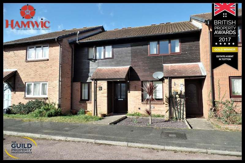 2 Bedrooms Terraced House for sale in Wellers Close, Totton, Southampton SO40