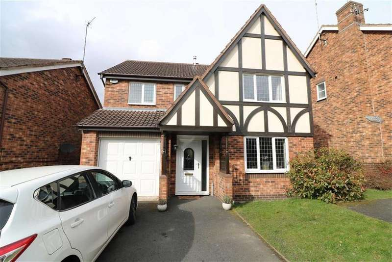 4 Bedrooms Detached House for sale in Brisbane Way, Wimblebury, Staffordshire