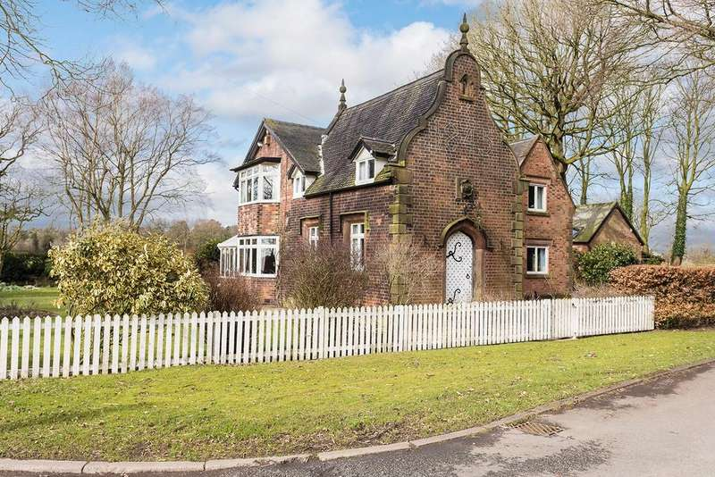 4 Bedrooms Detached House for sale in Budworth Heath, Nr Great Budworth