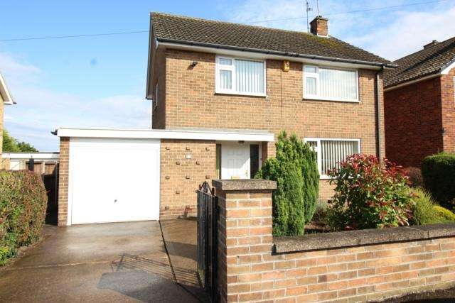 3 Bedrooms Detached House for sale in 91 Dunstan Crescent Worksop