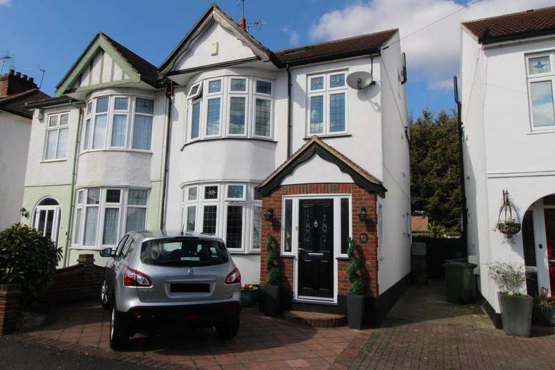 4 Bedrooms Semi Detached House for sale in Aldborough Road, Upminster, Essex, RM14