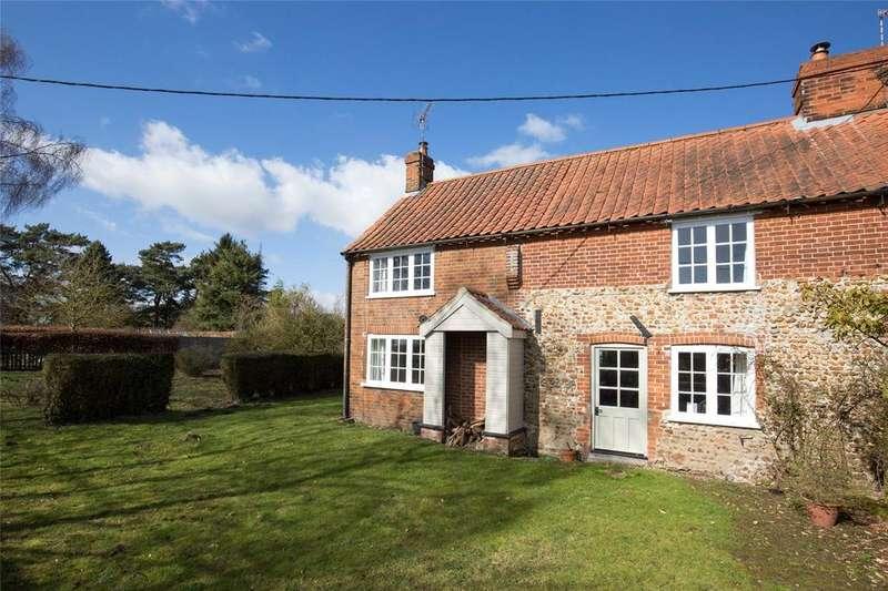 2 Bedrooms Semi Detached House for sale in The Street, Barney, Fakenham, Norfolk, NR21