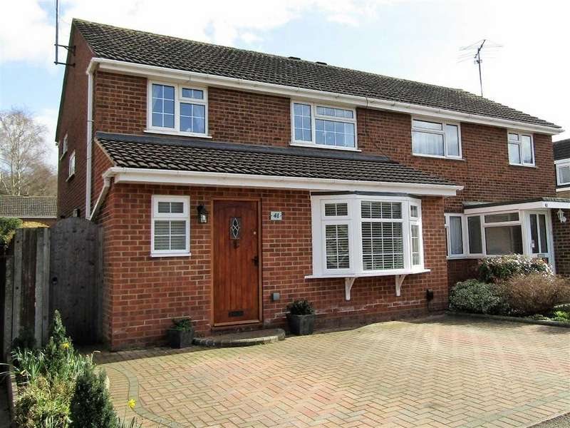 3 Bedrooms Semi Detached House for sale in Tennyson Avenue, Hitchin, SG4