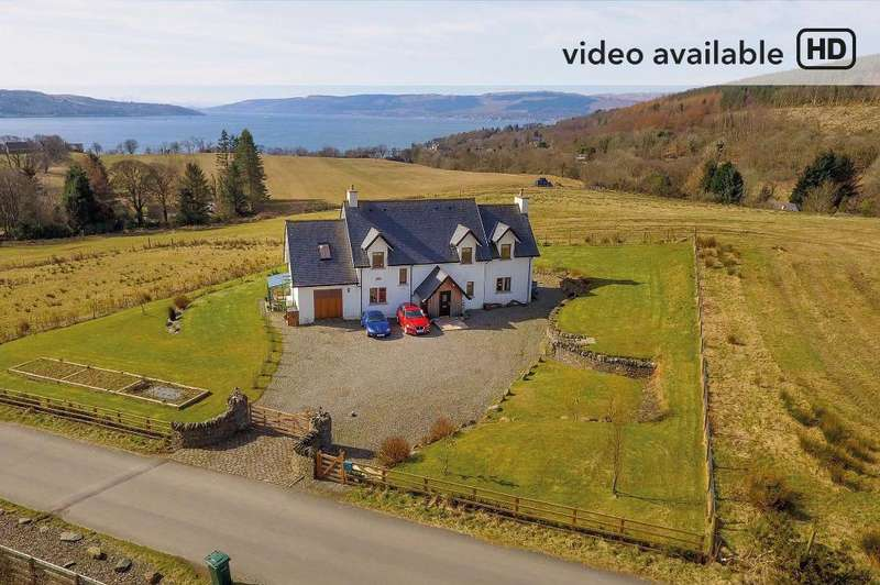 4 Bedrooms Detached House for sale in Big Sand, Kilcreggan, Argyll Bute, G84 0LF