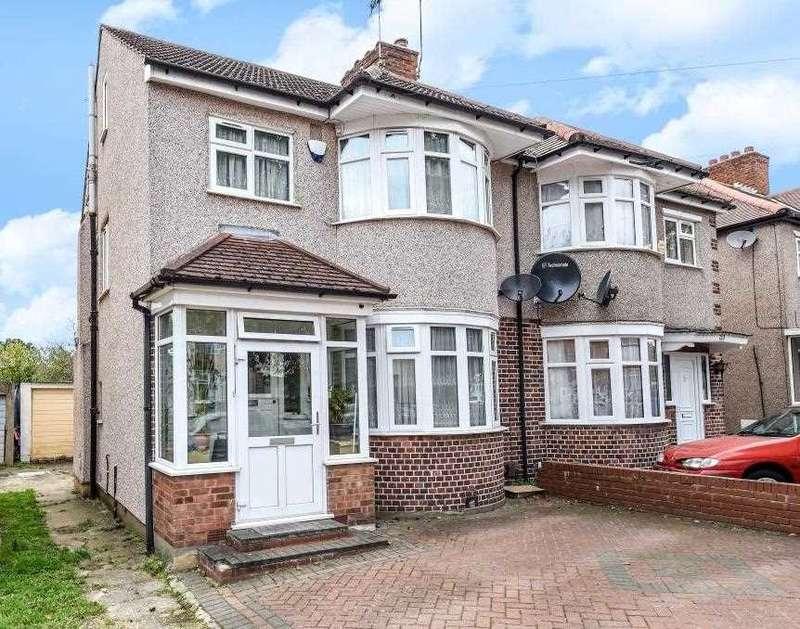 4 Bedrooms Semi Detached House for sale in Kenmore Avenue, Harrow