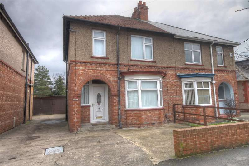 3 Bedrooms Semi Detached House for sale in Geneva Road, Darlington, DL1
