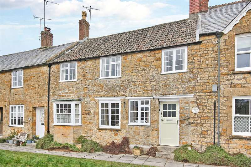2 Bedrooms Terraced House for sale in West Street, Hinton St. George, Somerset, TA17