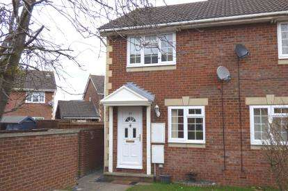 2 Bedrooms End Of Terrace House for sale in Fosse Close, Abbeymead, Gloucester, Gloucestershire