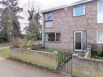 3 Bedrooms End Of Terrace House for sale in Westdale Walk, Kempston, Bedford, Bedfordshire