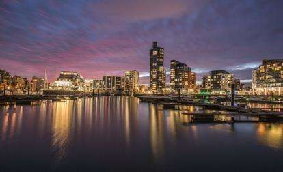 2 Bedrooms Flat for sale in Admirals Quay, Ocean Way, Ocean Village