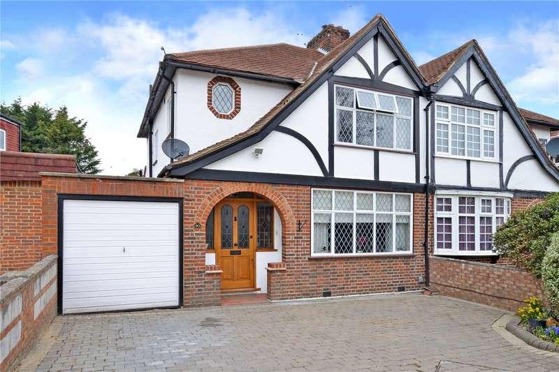 4 Bedrooms Semi Detached House for sale in Brockenhurst Avenue, Worcester Park, KT4