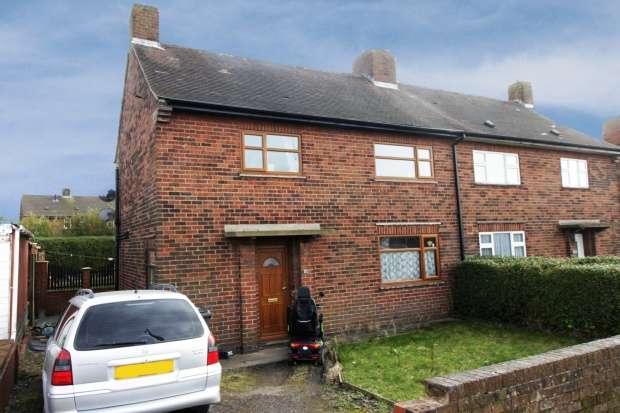 3 Bedrooms Semi Detached House for sale in Littlemore Lane, Alfreton, Derbyshire, DE55 5TY