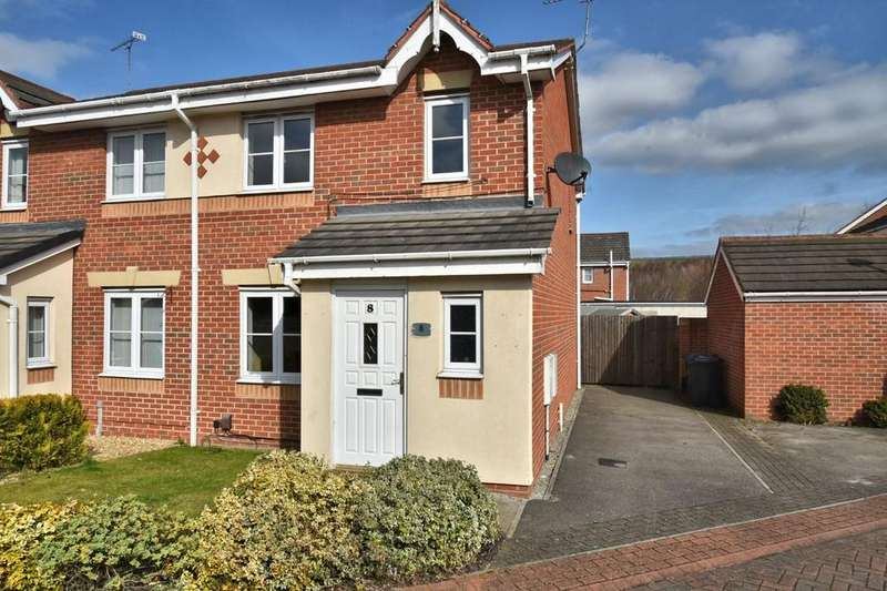 3 Bedrooms Semi Detached House for sale in Moat House Way, Conisbrough