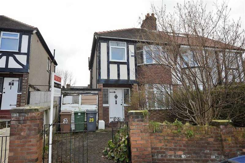 3 Bedrooms Semi Detached House for sale in Hawthorne Road, Tranmere, CH42