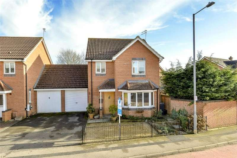 3 Bedrooms Detached House for sale in Boughton Road, Oakley Vale, Northamptonshire