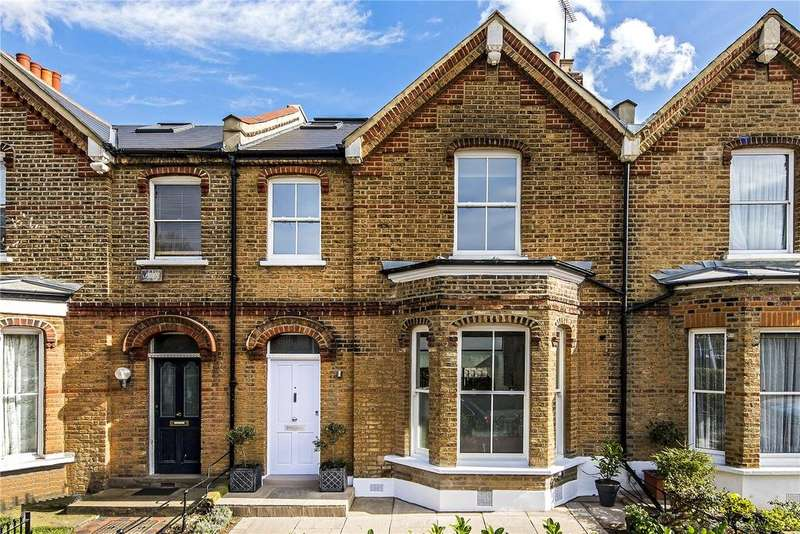4 Bedrooms Terraced House for sale in Iffley Road, Hammersmith, London, W6