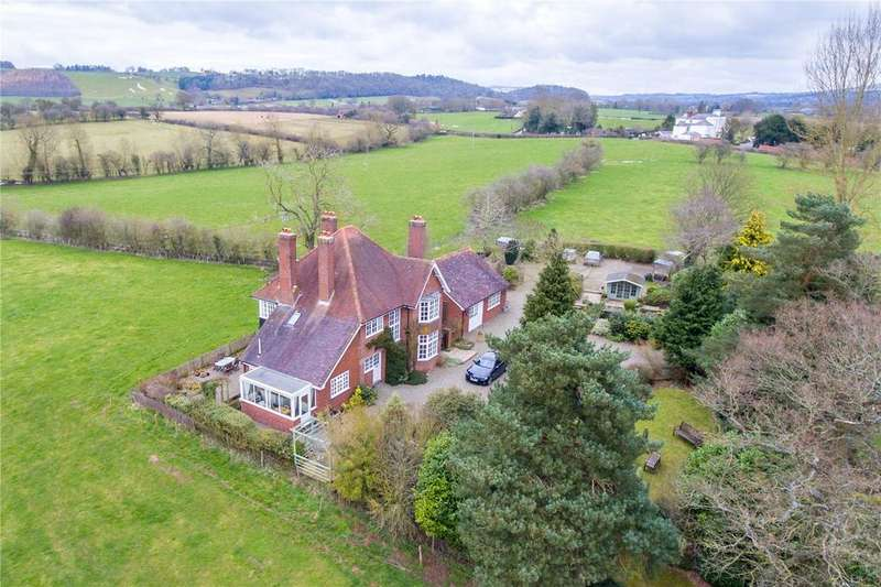 5 Bedrooms Detached House for sale in Fishmore, Ludlow, Shropshire