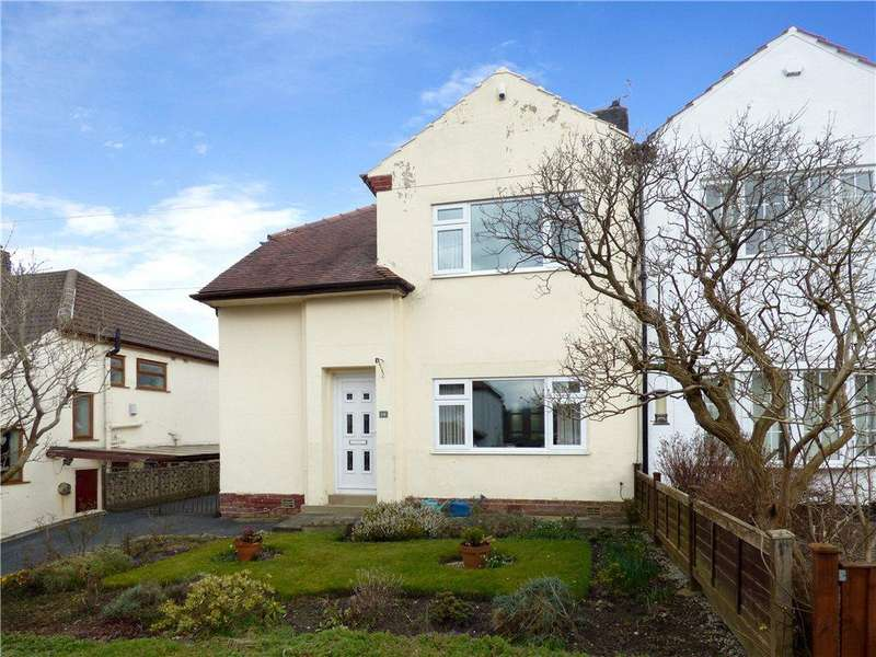 3 Bedrooms Semi Detached House for sale in Nab Wood Road, Shipley, West Yorkshire
