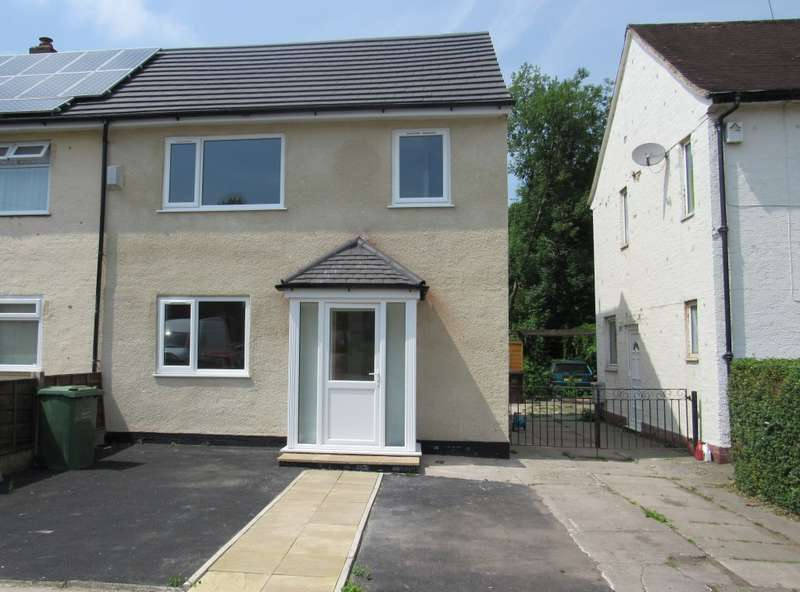 3 Bedrooms Semi Detached House for sale in Belsay Drive, Manchester