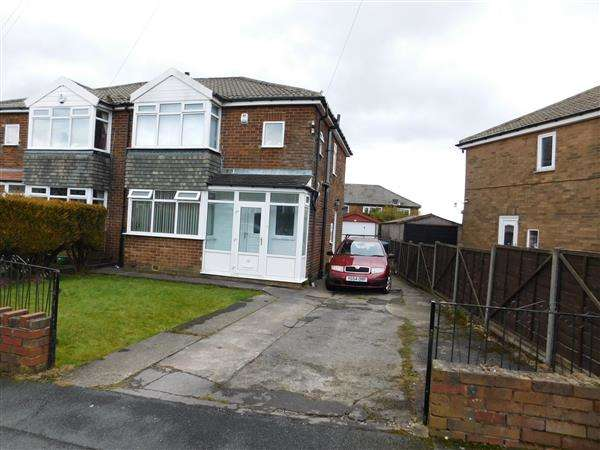 3 Bedrooms Semi Detached House for sale in Overton Drive, Bradford