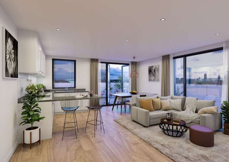 2 Bedrooms Flat for sale in Trafford Wharf, Sir Alex Ferguson Way, Trafford Park